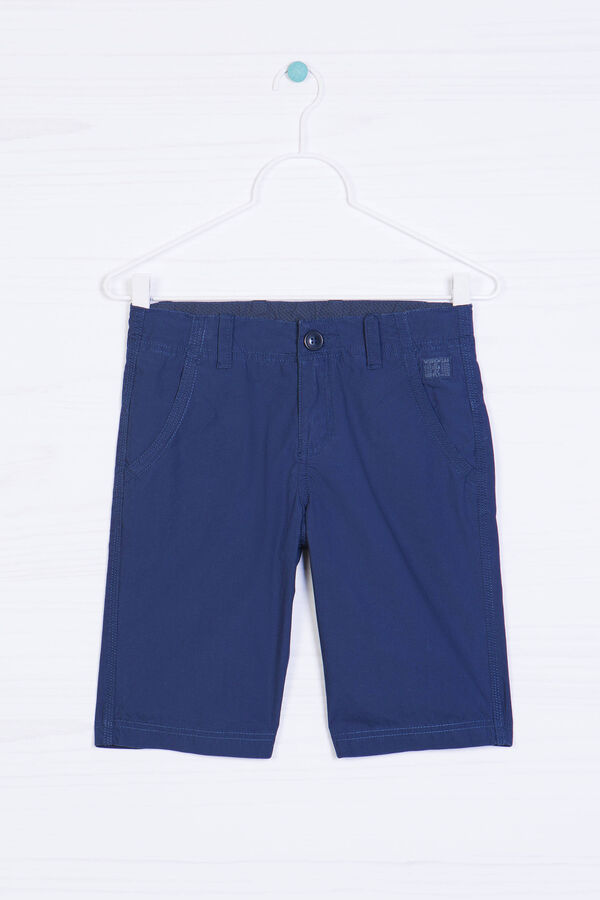 Plain cotton Bermuda shorts   OVS