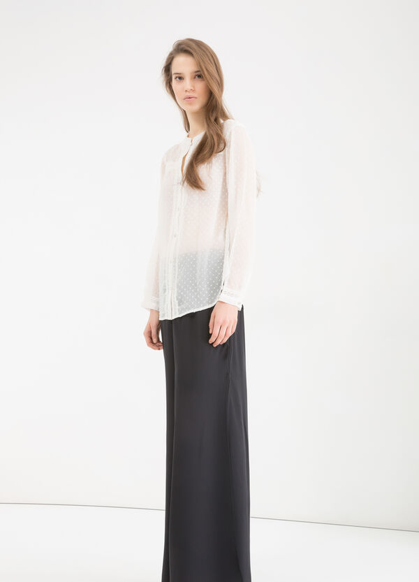 Camicia semi trasparente | OVS