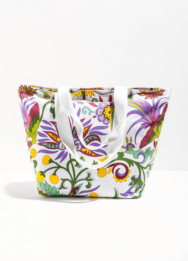 Beach bag with all-over print | OVS