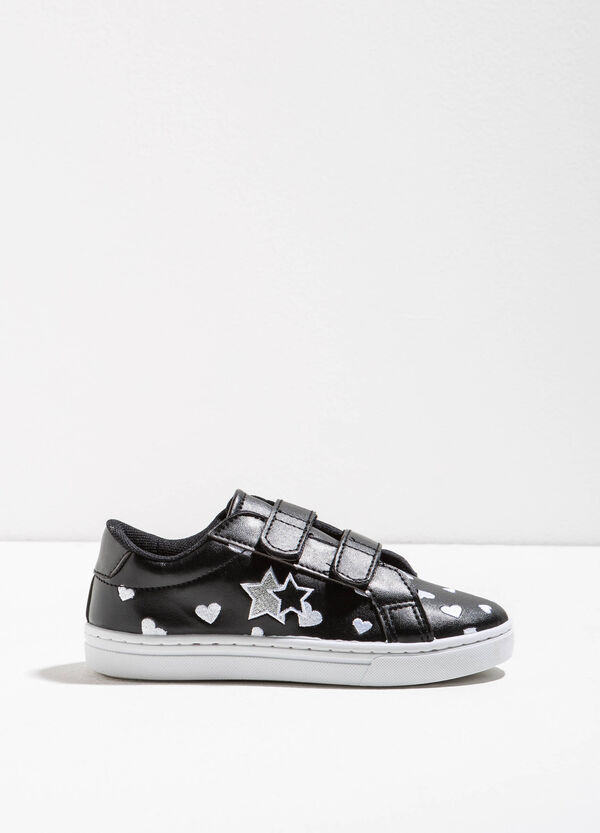 Sneakers with heart pattern | OVS
