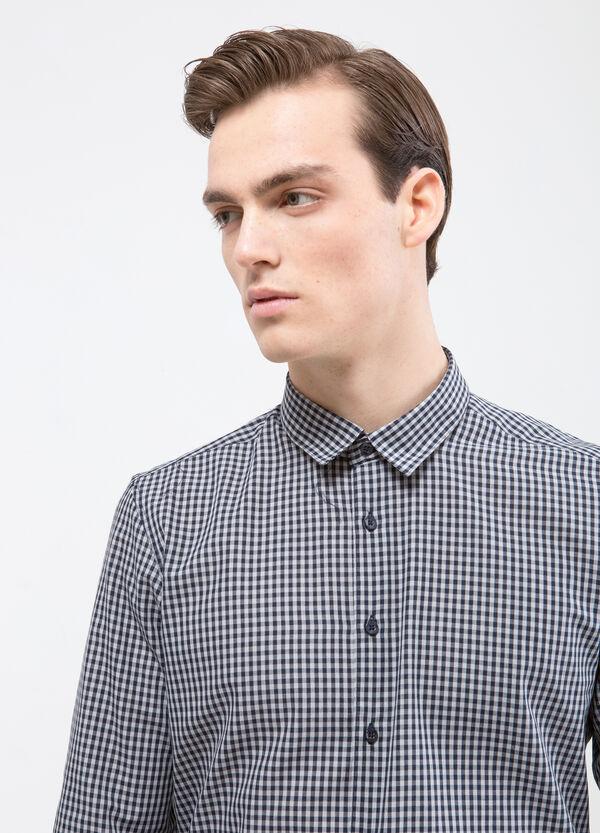 Camicia cotone quadretti   OVS