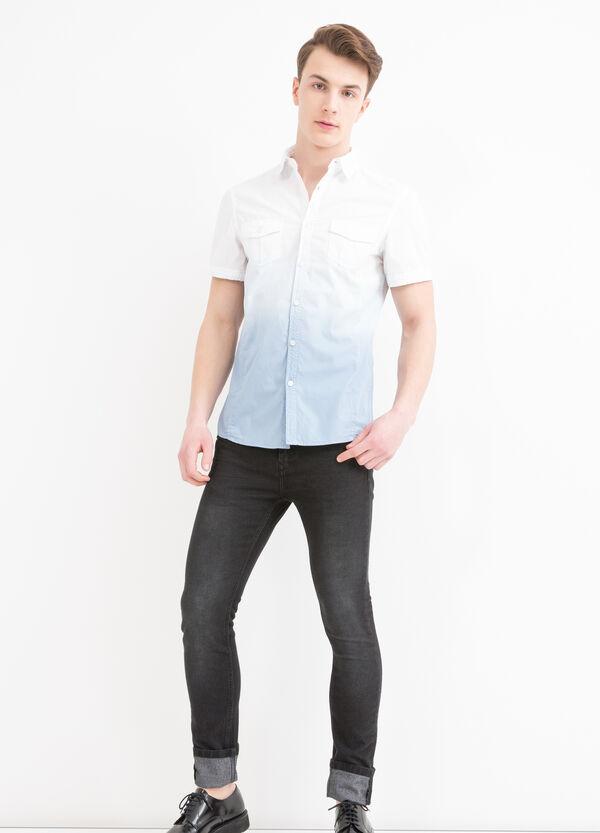 Camicia cotone degradé G&H   OVS