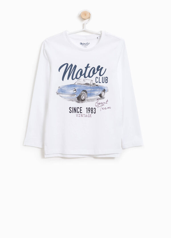 T-shirt in cotone stampa lettering | OVS