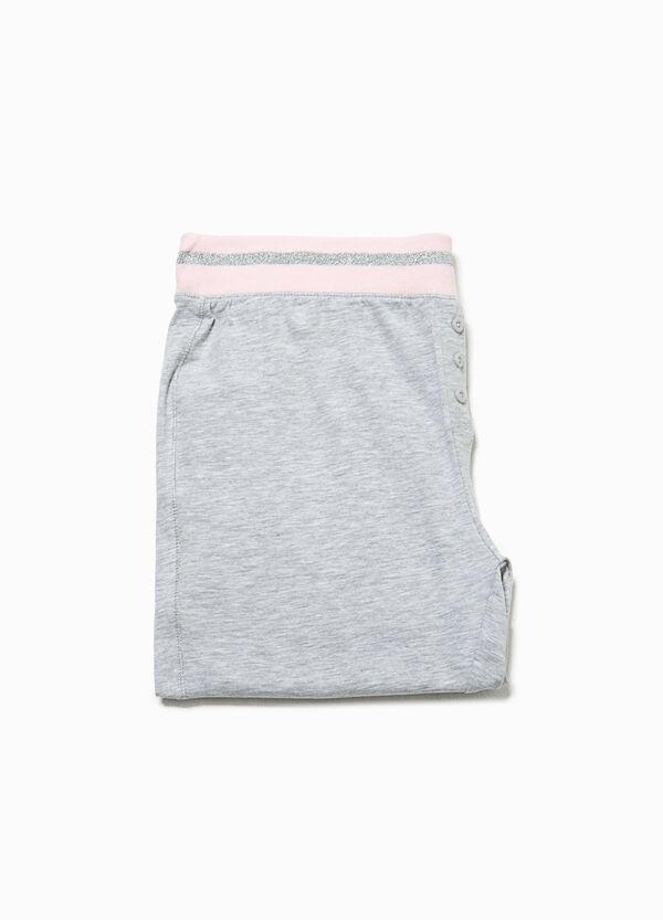 Stretch glitter pyjama trousers | OVS