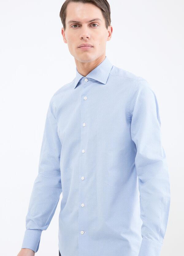 Camicia cotone quadretti slim fit | OVS