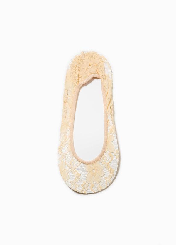 Calze salvapiedi in pizzo stretch | OVS