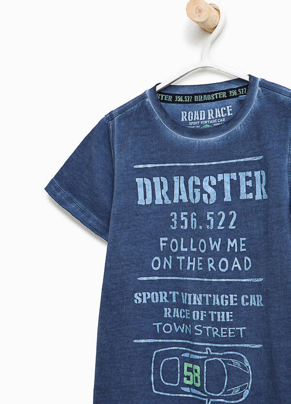 T-shirt con cuciture delavate | OVS