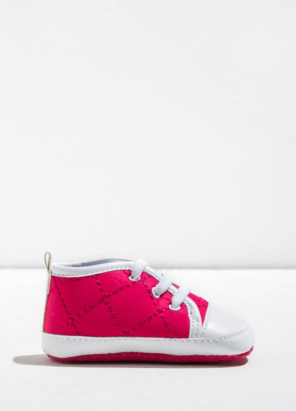 Quilted-effect sneakers | OVS