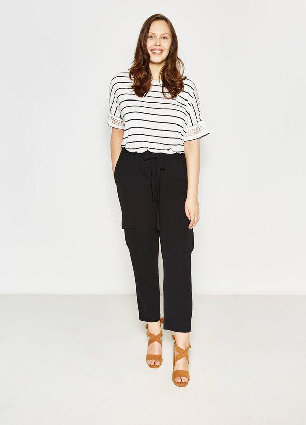 Pantaloni stretch con tasche Curvy | OVS
