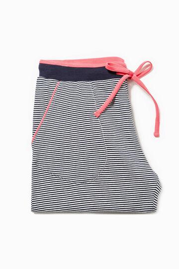 Striped pyjama trousers