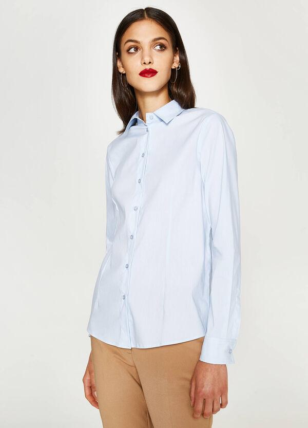 Camicia in misto cotone stretch   OVS