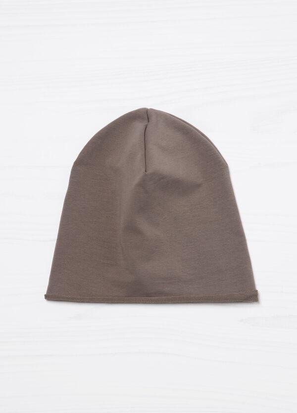 Cappello a cuffia tinta unita cotone | OVS