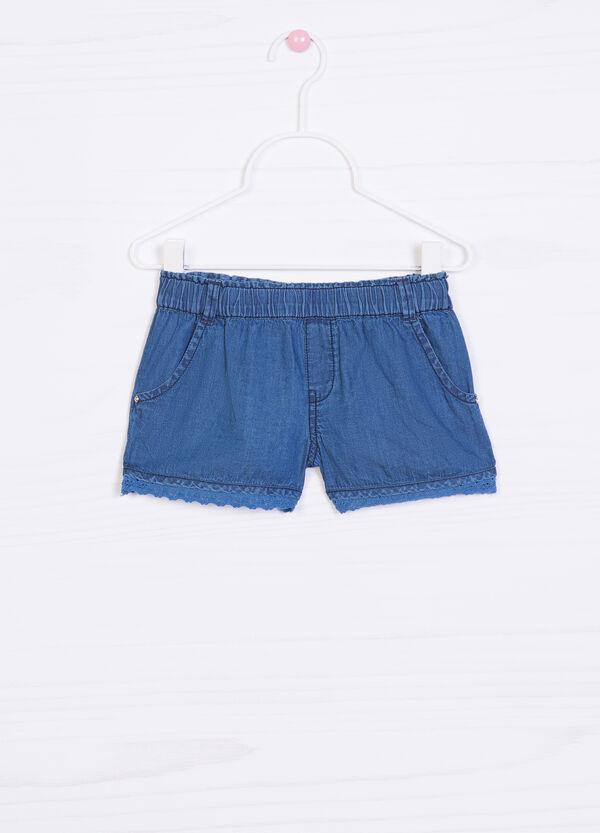 Shorts di jeans tinta unita | OVS