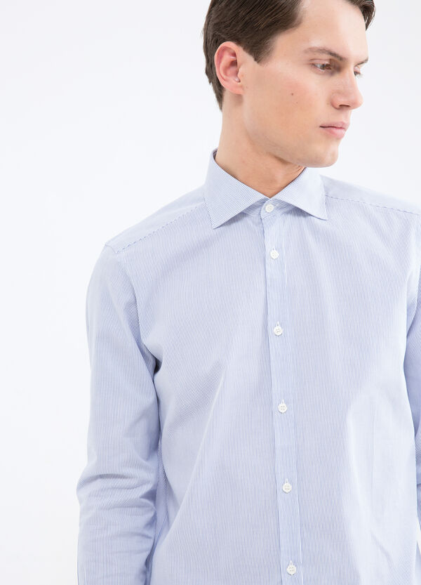 Striped shirt in 100% cotton | OVS