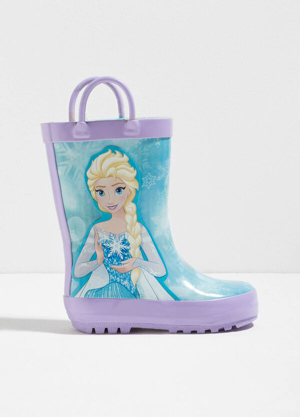Rain boots with maxi Frozen print | OVS