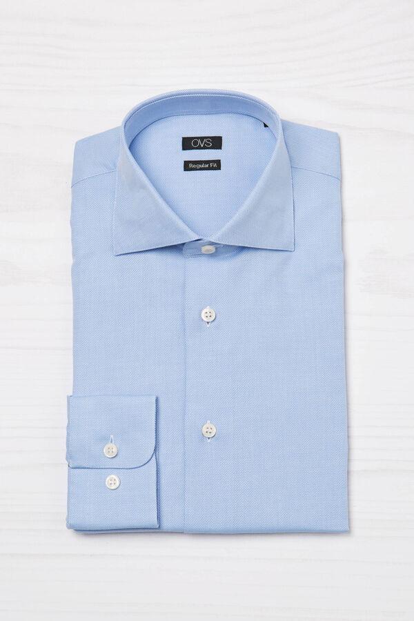 100% cotton regular fit shirt | OVS