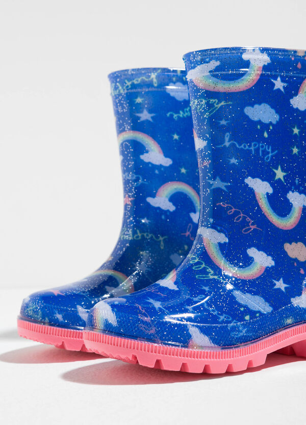 Stivali da pioggia fantasia arcobaleni | OVS