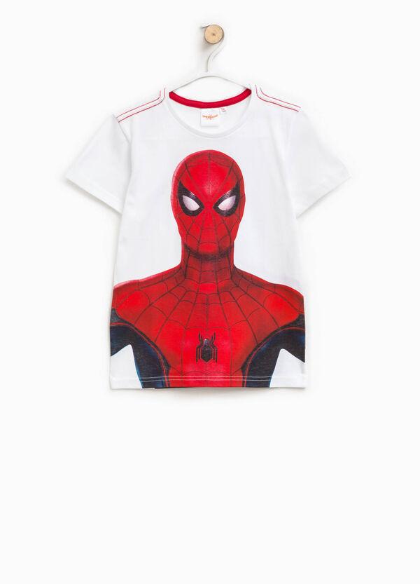 T-shirt in cotone con stampa Spiderman | OVS
