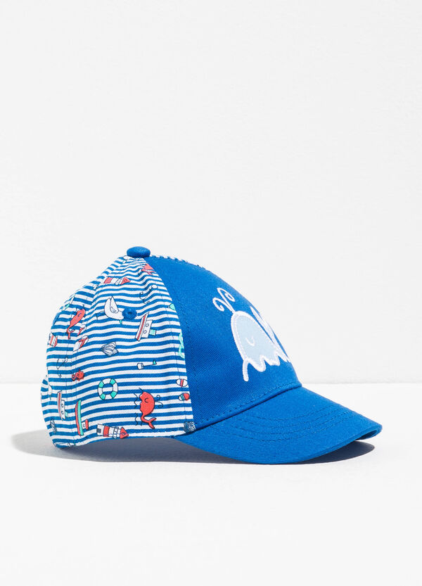 Patterned baseball cap | OVS