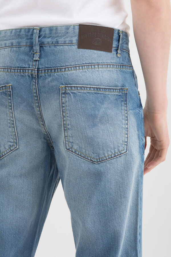 Jeans effetto used slim fit | OVS