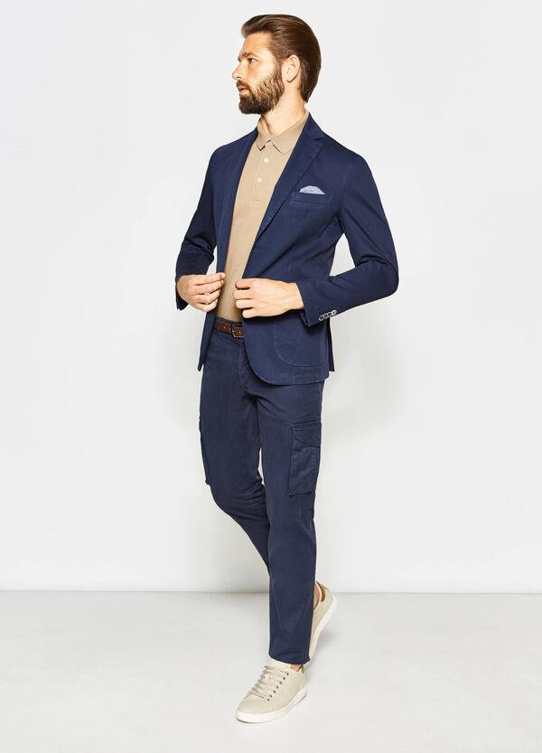Cotton Rumford jacket with pocket handkerchief | OVS