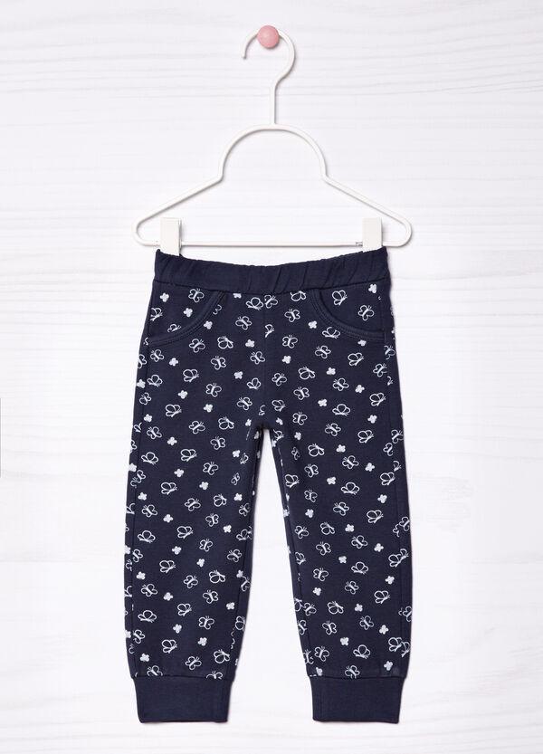 Stretch patterned gym pants   OVS