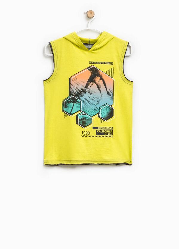 Vest top with hood | OVS