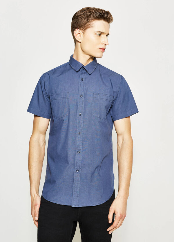 Camicia casual in popeline G&H | OVS