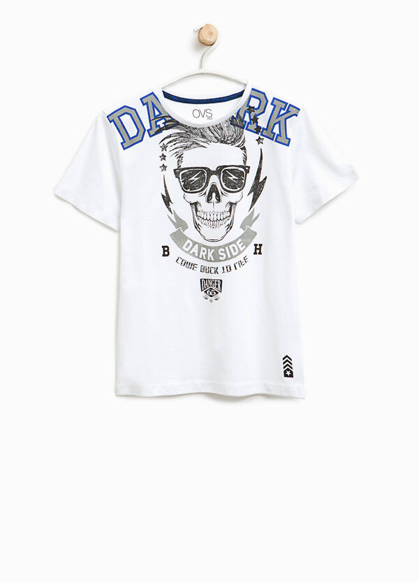 T-shirt stampa puro cotone | OVS