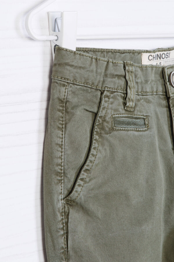 Pantaloni chino cotone stretch | OVS