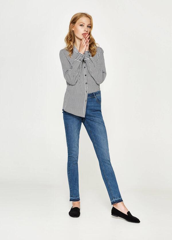 Jeans stretch orlo sfrangiato   OVS