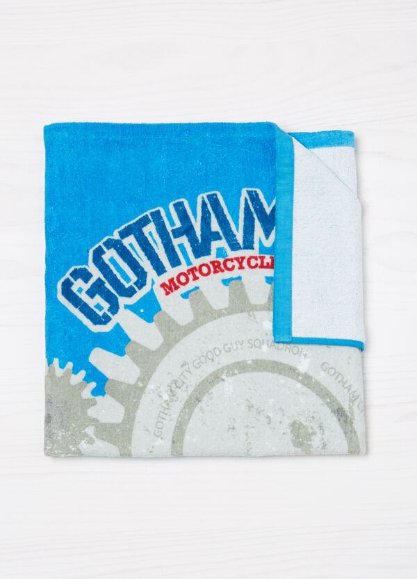 Cotton beach towel with print | OVS