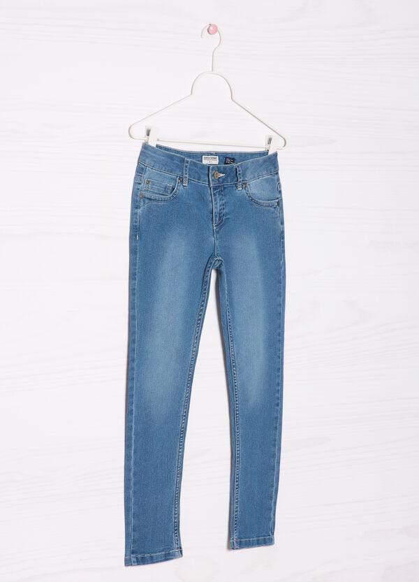 Jeans con effetto delavé | OVS
