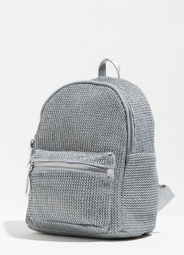Backpack with woven design | OVS