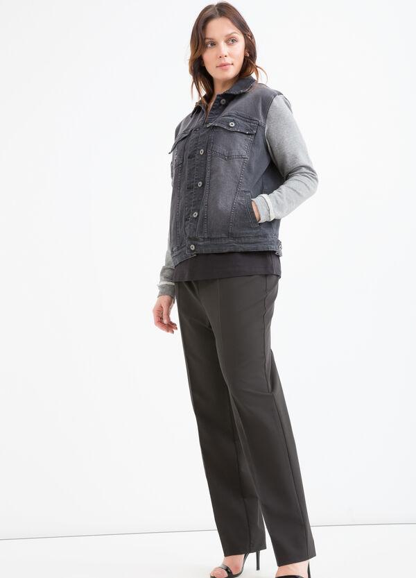 Giubbino di jeans delavé Curvy | OVS