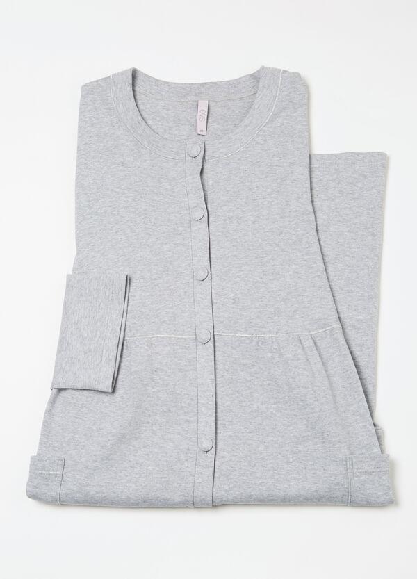 Curvy 100% cotton robe | OVS