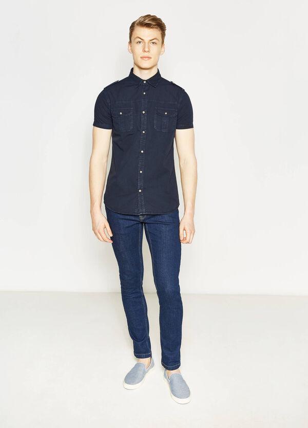 Camicia casual in popeline cotone G&H | OVS