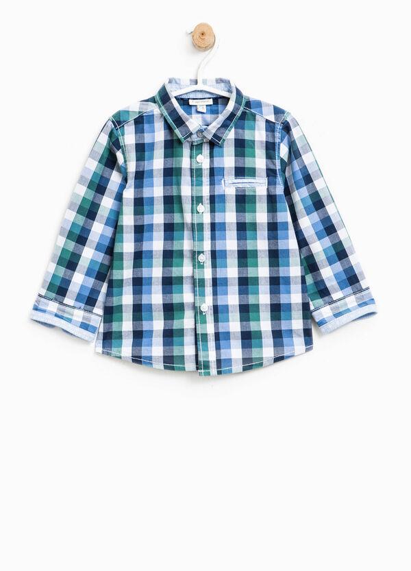 Camicia in puro cotone a quadri | OVS