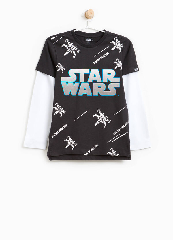 T-shirt cotone stampata Star Wars | OVS