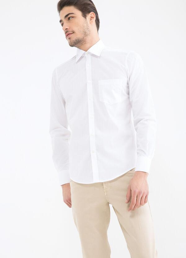 Camicia tinta unita slim fit | OVS
