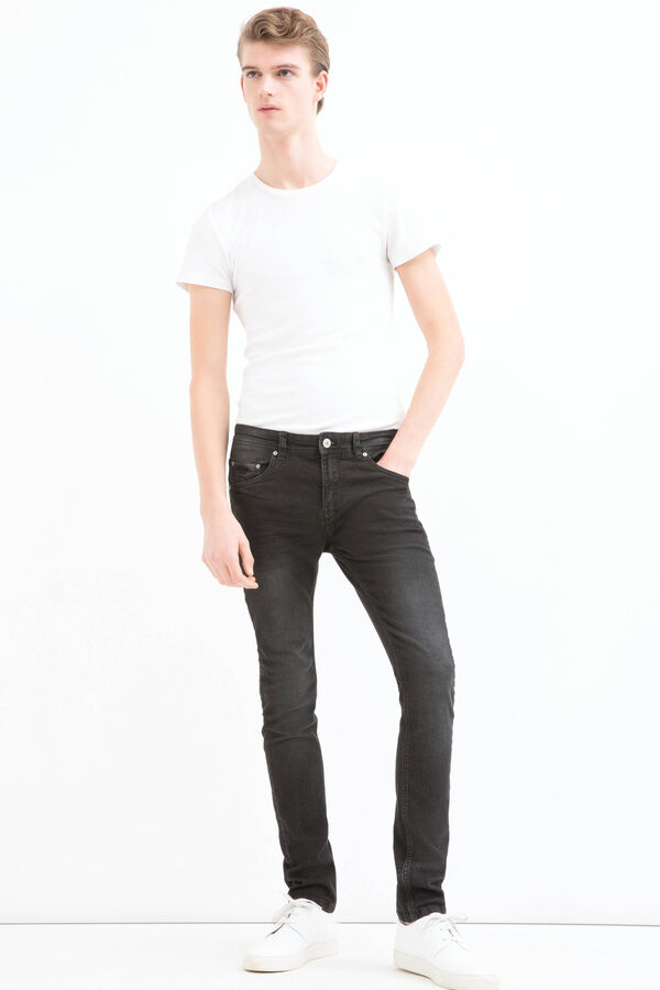 Faded jeans with super-skinny fit | OVS
