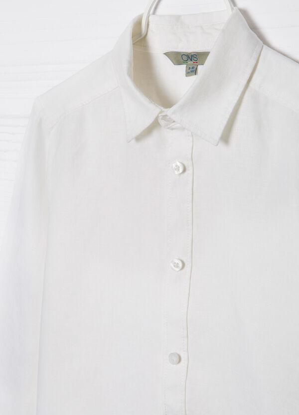 Camicia in puro lino   OVS