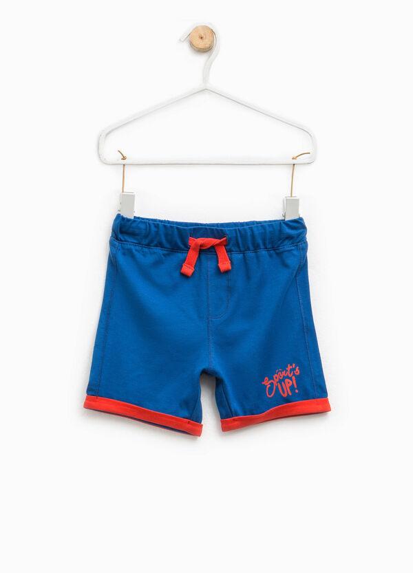 Pantaloncini con risvolto a contrasto   OVS
