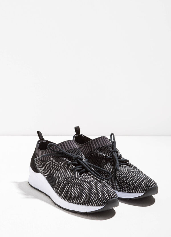 Sneakers with knitted upper | OVS