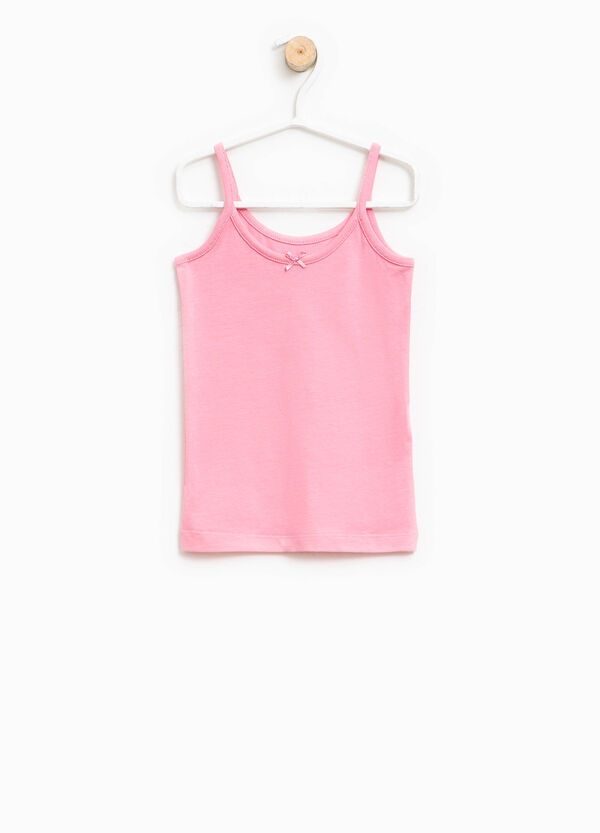 Top intimo in Biocotton con fiocchetto | OVS