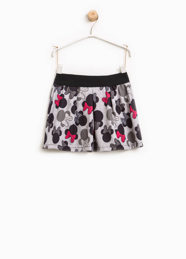 Viscose skirt with Minnie Mouse pattern | OVS