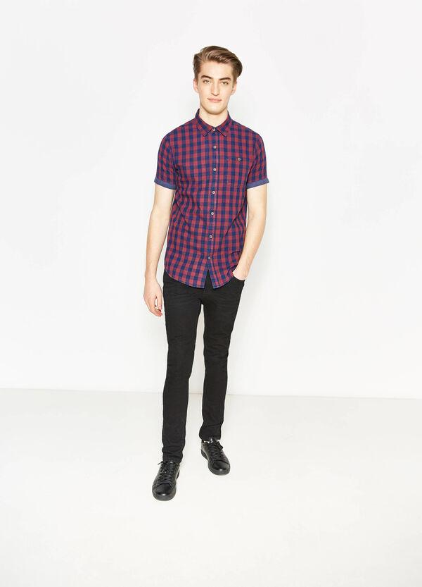 Camicia casual in puro cotone quadri | OVS