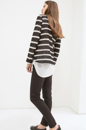 Striped pattern T-shirt