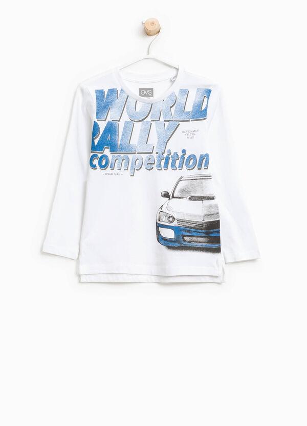 T-shirt in cotone con maxi stampa | OVS