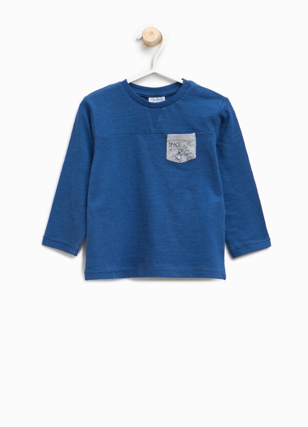 T-shirt con taschino stampato | OVS